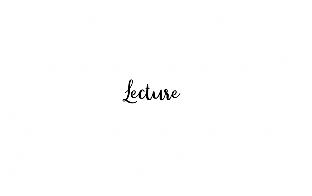 Lecture_blog